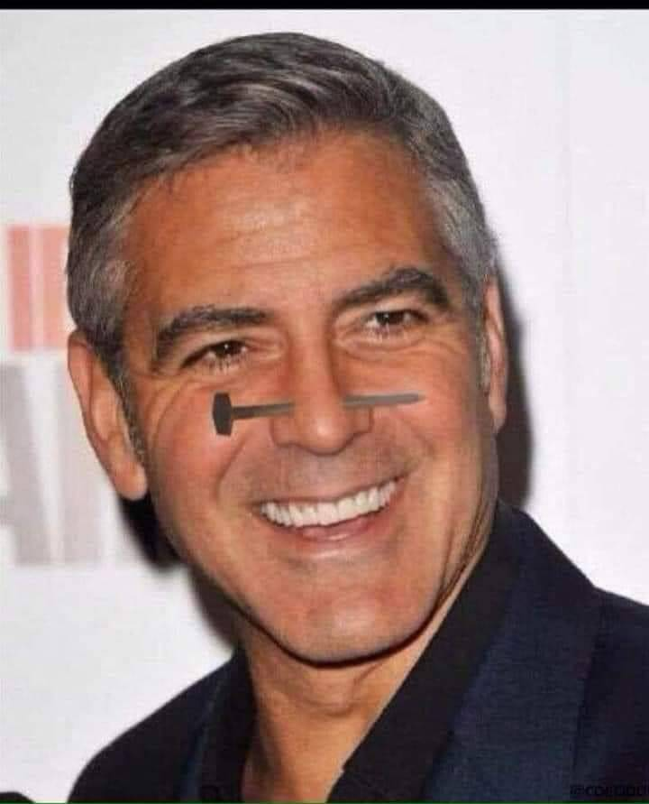 Image drole : Georges Clooney